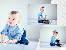 儿童摄影后期相册设计