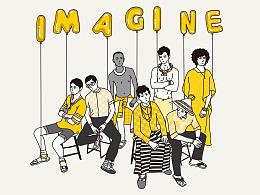 imagine imagine imagine
