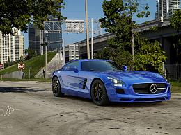 新作:奔驰SLS级AMG 渲染