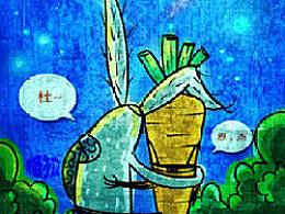 关于兔子的插画