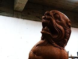 2015 泥塑狮子之二 (定件)