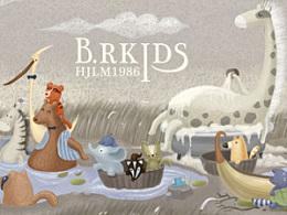 《BR.BLISS》--线圈插画