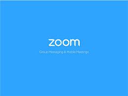 ZOOM视频会议App InterfaceI Redesign