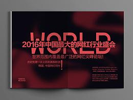 FANG/网红画册设计