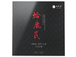 中医药产品宣传画册设计