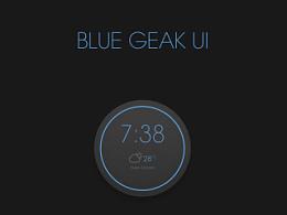 +blue geak+