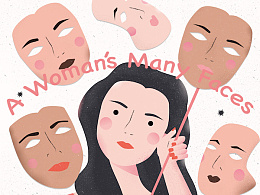 A Woman's Many Faces