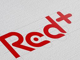 【logo】red+网红经济平台标志