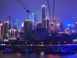 『重庆』赛博朋克的未来城市