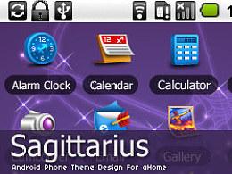 "android手机主题设计""Sagittarius"""