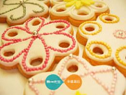 宛如梦幻-sakura翻糖饼干