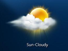 一套天气图标练习——画的是心情