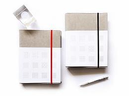 Aline Studio x LXU 联合出品笔记本——Notebook of Grids