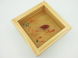 陈翔颖树脂画实验品《吉运九如》
