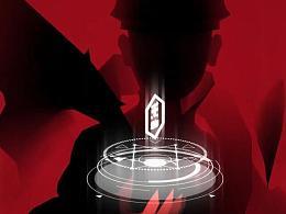 【魔格】图形动画结合三维场景的黑暗系游戏宣传动画