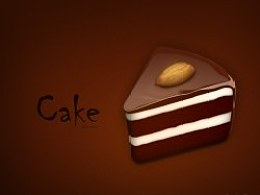 巧克力蛋糕-临摹作品