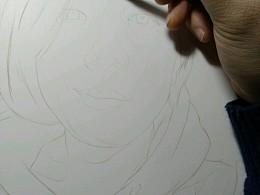 手绘肖像画