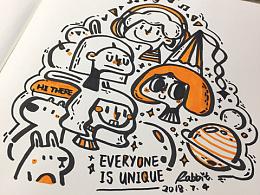 每个人都是独一无二的