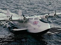 英国海外航空波音314远程水上客机G-AGBZ