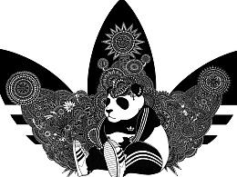 阿迪达斯成都《adi-panda》