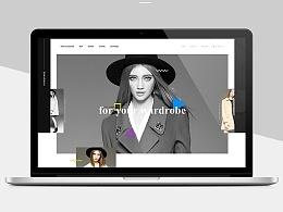 欧美高端女装网页练习(4)