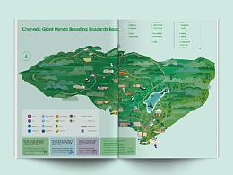Scenic map design-景区地图