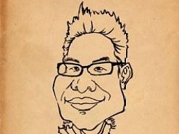 肖像漫画1