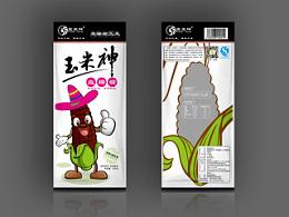 玉米神系列包装设计