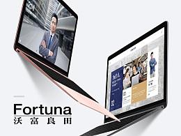 沃富良田企业官网改版设计