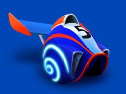 极速蜗牛--壳一枚!(附PSD下载)