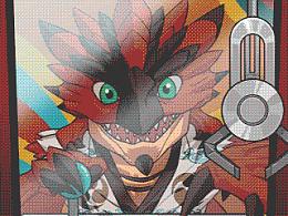 2015TGC《怪物猎人OL》重大事件发表倒计时动态海报
