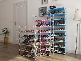 鞋架 爆品一天卖好几百个,好图好销量!智酷设计