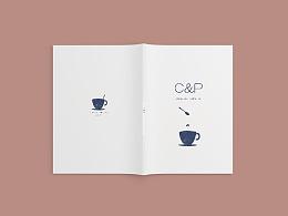 """C&P""杯子产品设计及手册设计"