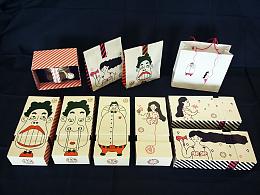 「五彩绳」橡皮糖包装设计展示