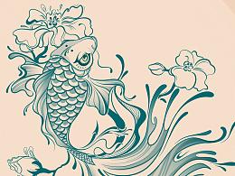 首次设计纹身图案