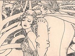 连环画手稿《爱的传说》