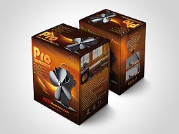 smart stove fan 壁炉风扇包装