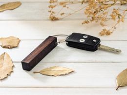 【一宅一朴】红木钥匙扣