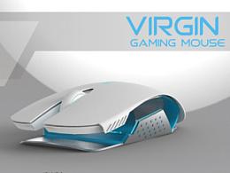 VIRGIN游戏鼠标概念设计