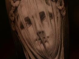 西安天予刺青写实花臂作品