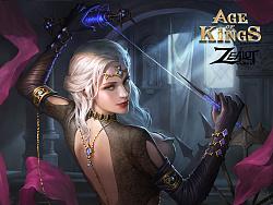 《王权争霸(Age of Kings)》人物卡牌插画