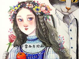 女孩与猫系列2