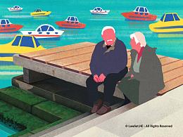 [插画] 威尼斯码头