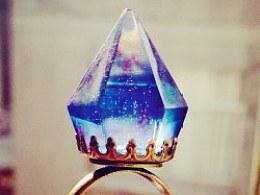 水晶滴胶钻石手作