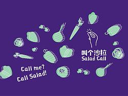 叫个沙拉Salad Call|沙拉轻食品牌设计|南無督造Nanmoo.Design/南无设计