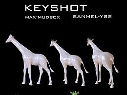 工艺品-长颈鹿