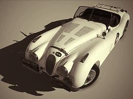 Jaguar NUB120 游戏模型制作过程