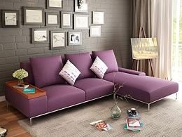现代简约布艺沙发