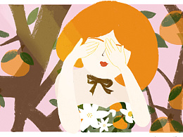 春天里的橙子气味