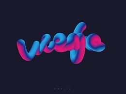 AI混合字体设计